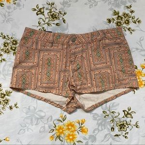 Insight Peach & Green Shorts